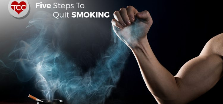 Five Steps To Quit Smoking | Total Cardiac Care by Dr Mahadevan
