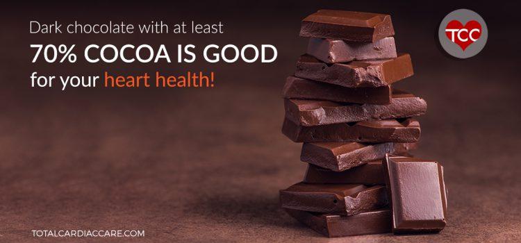 Dark chocolate and Heart health | Total Cardiac Care by Dr Mahadevan