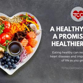 Healthy food and heart health | Total Cardiac Care by Dr Mahadevan